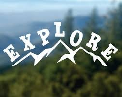 Explore Mountain PREMIUM Decal 5