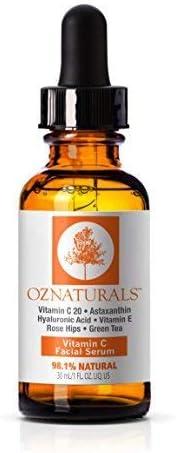 Oz Naturals Vitamin C Facial Serum 30ml