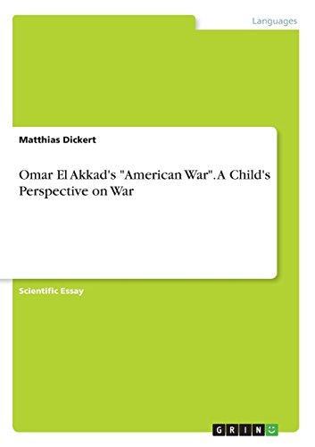 Omar El Akkad's American War. A Child's Perspective