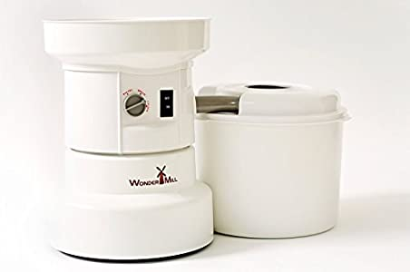 WonderMill Electric Grain Grinder –  little over 3 months ago and I was very happy with it