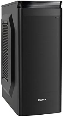 Zalman ZM-T5 Carcasa de Ordenador Mini-Tower Negro - Caja de Ordenador (Mini-Tower, PC, Negro, ATX,Micro ATX, 1x 120 ...