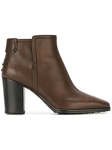 Boots Xxw0zu0r770d90s800 Leather Women's Ankle Brown Tod's xAaHwqc