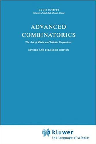 Book Advanced Combinatorics: The Art of Finite and Infinite Expansions by L. Comtet (2010-12-22)