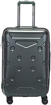 JKLL Viajes Feixunfan Maleta 20 pulgadas de peso ligero, durable de Shell duro incorporado TSA Bloqueo del ajuste de la maleta del equipaje de cabina conveniente for escapadas de fin de semana, Tamaño