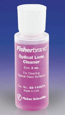 Fisherbrand Optical Lens Cleaner; Nonflammable; Capacity: 2. (59mL) by Fisher Scientific