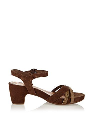 Tamaris 1–1- 28328–24, sandales femme - Marron - Marron, 42
