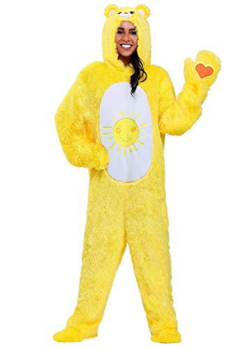 Care Bears Adult Classic Funshine Bear Costume Medium Yellow -