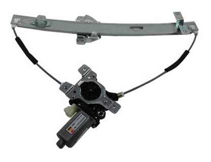TYC 660179 Saturn Front Passenger Side Replacement Power Window Regulator Assembly with (Power Supply Fan Assembly)