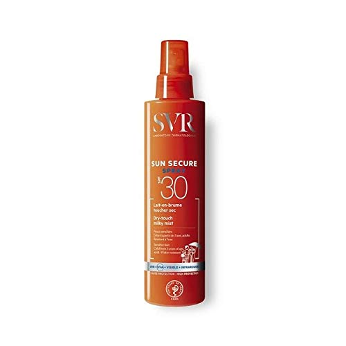 Svr laboratoires sun secure spray spf30 dry-touch milky mist 200ml Gift For Treatment Your Skin