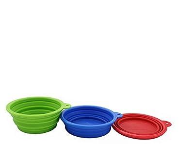 KingWinX Portable Fold Travel Water Food Pets Bowl