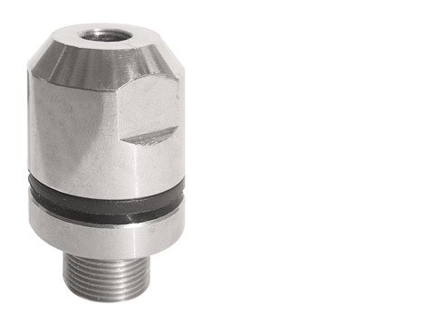 Stainless Steel Extra Heavy Duty 3/8-24 Stud Mount for Ham & CB Radio Antennas by ProCom