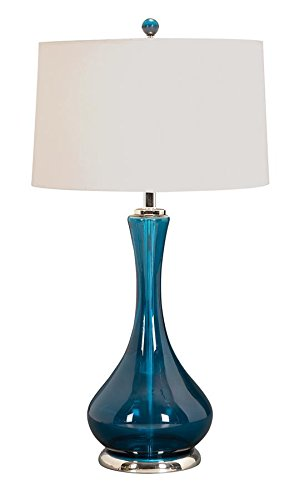 Beau Glass Table Lamp A Living Style Statement (One Lamp) By Benzara