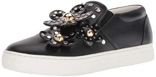 Marc Jacobs Women's Daisy Studded Slip Sneaker, Black, 39 M EU (9 - Slip Womens Jacobs Marc