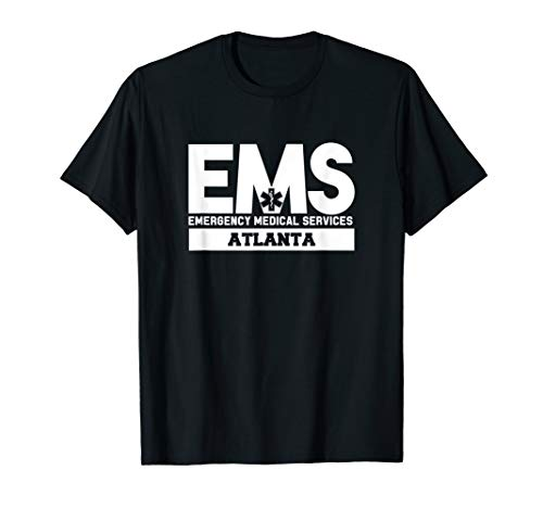 Atlanta Georgia EMS Paramedic EMT Uniform T-Shirt