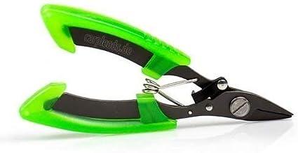 """CARPLEADS Ultra Scissors """"black//green"""" Braid /& Vorfachschere"""