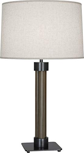 Robert Abbey Todd Patina Bronze and Brass Mesh Table Lamp