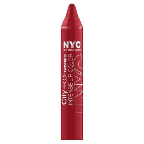 NYC City Proof Twistable Intense Lip Color - Roosevelt Island Red by - Mall Roosevelt