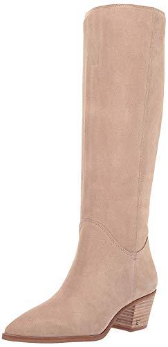 Sam Edelman Women's Rowena Knee High Boot, Warm Taupe Suede, 11 M US