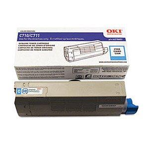 Okidata Genuine OEM 44318603 Cyan Toner Cartridge (11.5K YLD) for C711DN, C711DTN, C711N (Oki Genuine Cyan Drum)