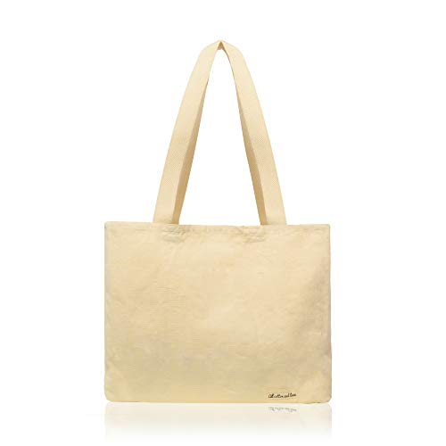 Cotton Budget Tote Bag - CANVAS TOTE BAGS - Zero Waste Bags - Canvas Shopping Bags - Grocery Tote, Heavy Duty, Washable - Reusable Grocery Bags (14