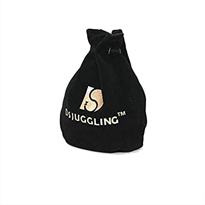 DSJUGGLING Heavy Ball Bag for Acrylic Contact Juggling Balls 50mm to 100mm (Medium 50mm to 75mm): Toys & Games