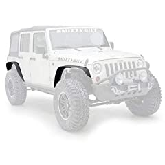 XRC fender flares are tough and durable, and add both style and functionality to your Jeep while maintaining that streetable look.