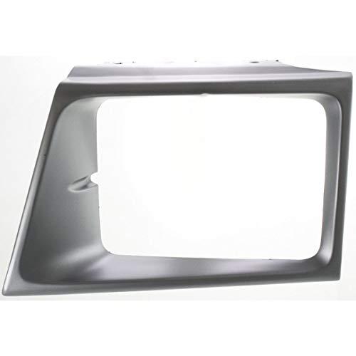 New Head light Headlight Door Headlamp Bezel Driver Left Side Silver E150 Van LH
