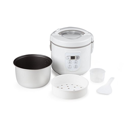 white brown rice cooker - 8