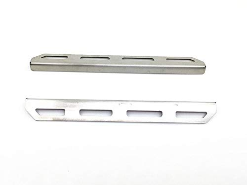 Part & Accessories 2pcs Anti-skid Plate Foot Pedal RC Parts Crawler Car Side Metal Skid Plate Pedal for TRAXXAS Trx-4 T4 Upgrade Parts - (Color: Silver) ()