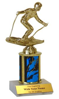"8"" Downhill Skiing Trophies"