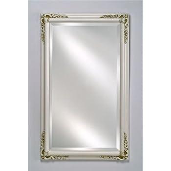 Amazon Com Estate Decorative Wall Mirror In Antique White