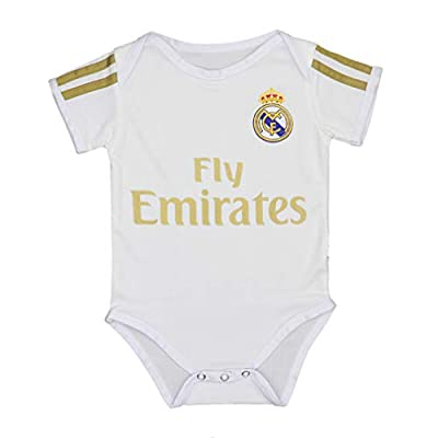 Real Madrid Bodysuit Soccer Baby Suit for Infant & Toddler Baby Rompers