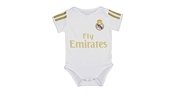 Amazon.com: Fc Real Madrid Soccer Club - Mono de algodón ...