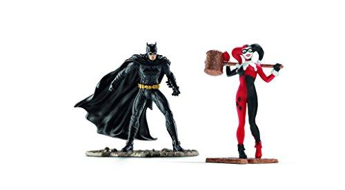 (Schleich North America Batman vs. Harley Quinn Scenery Pack)