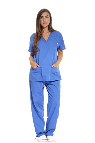 Just Love 22230V-3X Royal Women's Scrub Sets/Medical Scrubs/Nursing Scrubs