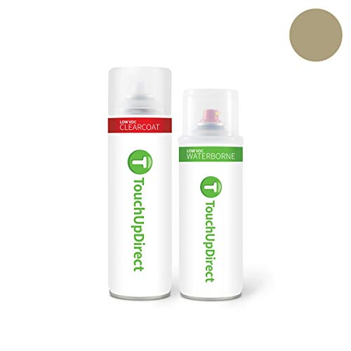- TouchUpDirect Exact Match Automotive Touch Up Paint Compatible with Jeep Light Khaki Metallic (JC/AJC) Aerosol - Essential Package