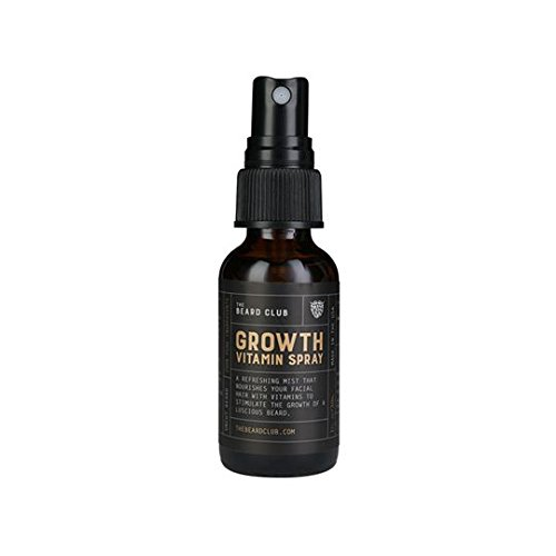 Advanced Beard Growth Kit | The Beard Club | Growth Vitamins, Beard Oil, Shampoo, Beard Spray, Comb, and Brush by The Beard Club (Image #3)