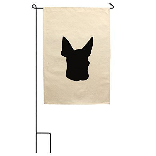 "Style in Print Canvas Yard Garden Flag 18""X27"" Toy Fox Terri"