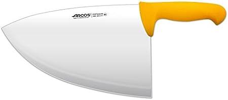 Arcos 2900, Filetera, Acero Inoxidable Nitrum de 280 mm, Mango Polipropileno Color Amarillo
