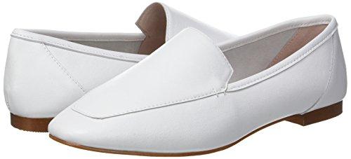 Leather Para white Blanco Office Flora Mujer Mocasines HEYWRq6