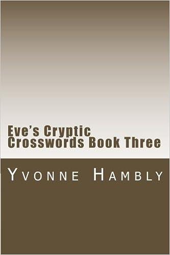 Volume Three Cryptic Crossword Puzzles