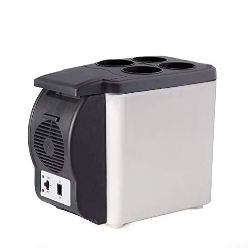 Magic Mag 6L Car Refrigerator Portable Mini Refrigerator Car Home Dual-Use Cold and Warm Refrigerator Freezer Car Small Appliances