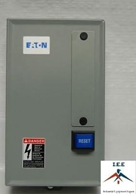Eaton 5HP Single 1 Phase 230V Magnetic Starter B27CGF30B040 Motor Control New
