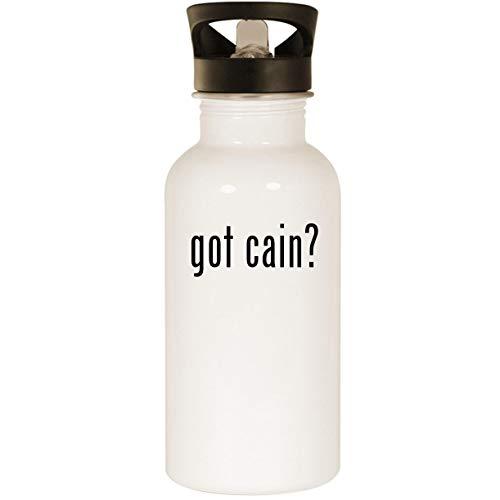 got cain? - Stainless Steel 20oz Road Ready Water Bottle, - Matt Shirt Cain