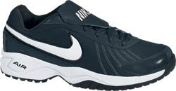 (NIKE Men's Air Diamond Baseball Trainer (13, Black/White))