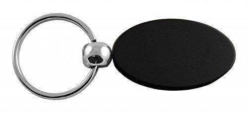 Dodge Ram Logo Anodize Aluminum Oval Key Chain Black DanteGTS