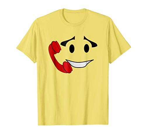 Halloween Emoji Group Couple Costume Shirt Call Me -