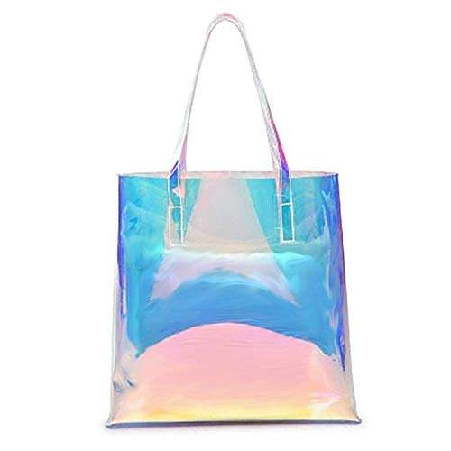 Holographic Travel Beach Tote Bag