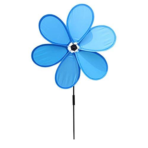 (Smartey Sunflower Lawn Wind Spinners Pinwheels Windmill Party Pinwheel for Garden Decor)