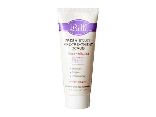 Belli Fresh Start Pre-Treatment Scrub - Reveals Healthy Skin - OB/GYN and Dermatologist Recommended - 6.5 oz.